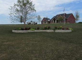 Flagstone planters